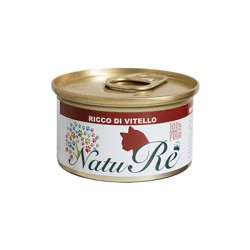 NatuRè - Cat Adult - Vitello - Scatoletta 85 Gr.