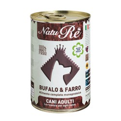 NatuRè Adult Bufalo e Farro - Scatoletta 400 Gr.