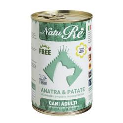 NatuRe Adult Anatra e Patate - Scatoletta 400 Gr.